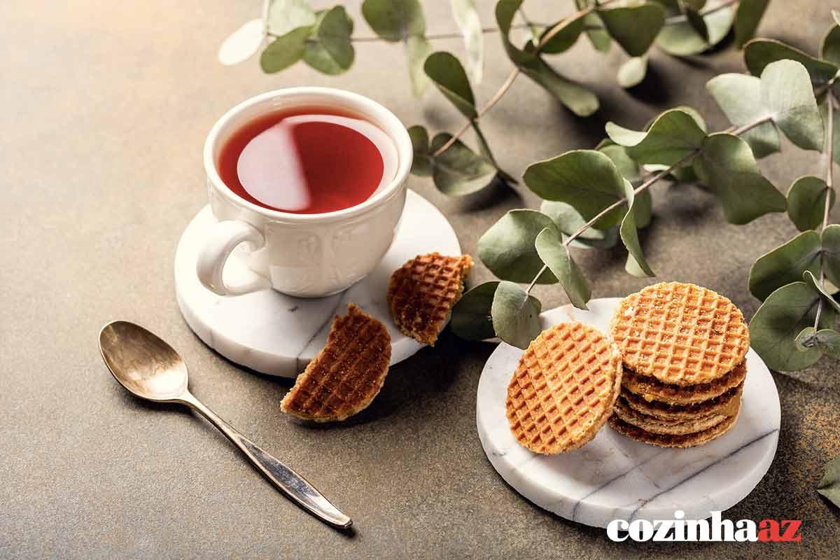Biscoito Holandês Stroopwafel